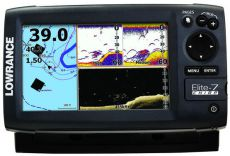 Эхолот Lowrance Elite-7 CHIRP 83/200+455/800